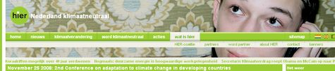 2nd Conference on adaptation to climate change in developing countries website